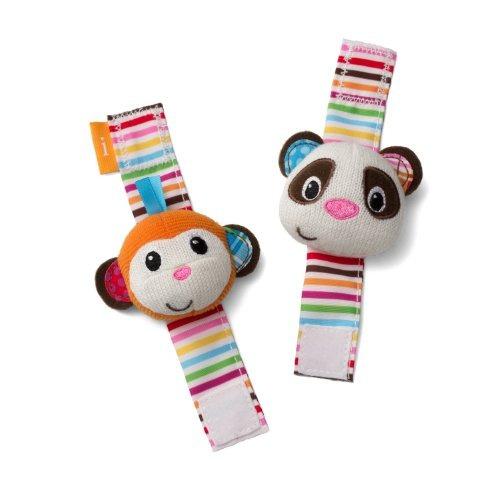 sonajeros mono y panza muñecos infantino