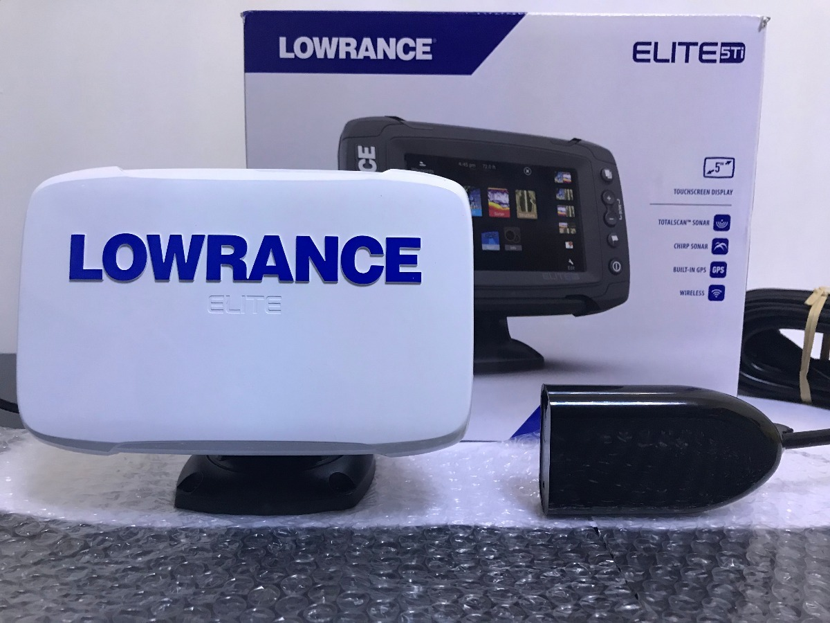 Sonar Lowrance Elite 5 Ti Com Transducer - Remanufaturado