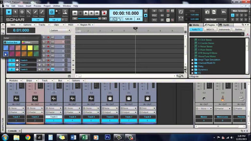 sonar platinum + amplitube 4 +  ez drummer 2 | pc