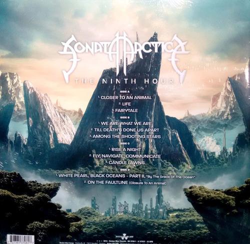 sonata arctica - the ninth hour - vinilo doble nuevo