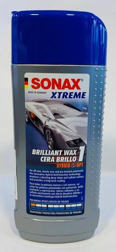 sonax cera brilladora/polichadora vehiculos xtreme 1 250ml