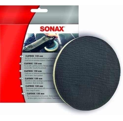 sonax clay disc  clay bar en disco grado medio 150mm