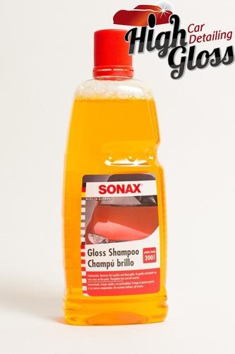 sonax gloss shampoo concentrate 1litro highgloss rosario