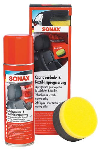 sonax impermeabilizante de tapizados y capotas