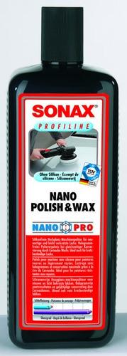 sonax  profiline nano polish & cera nanopro pulidor con cera