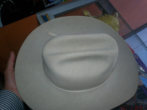 sonbrero etecson 4 x beige buen estado talla 57