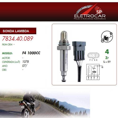 sonda lambda mv agusta f4 1000cc 07 em diante (sensor de oxi