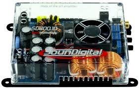 sondigital 600.1d  modelos 2 ohm temos a pronta entrega