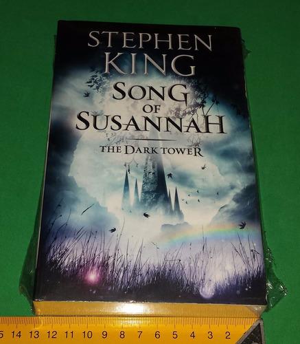 song of susannah - the dark tower series - stephen king novo