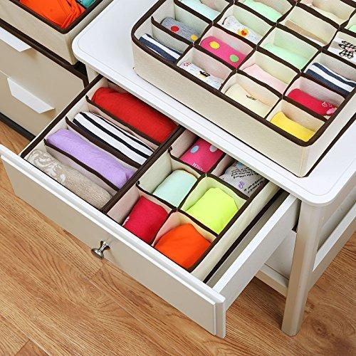 songmics closet underwear organizer drawer divider para bras