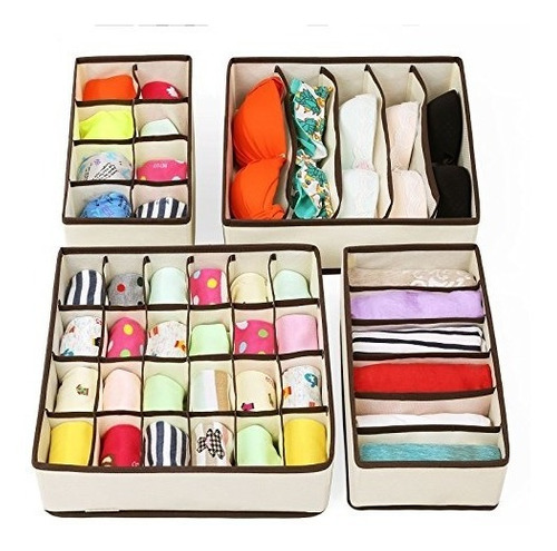 songmics closet underwear organizer drawer divider para bras
