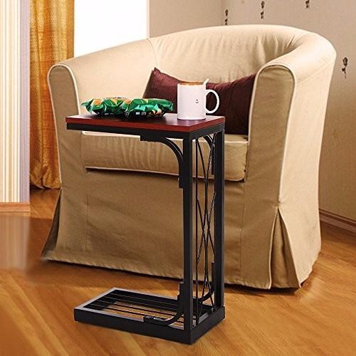 Songmics mesa para comer recargador para sofa o cama - Mesa para comer en la cama ...