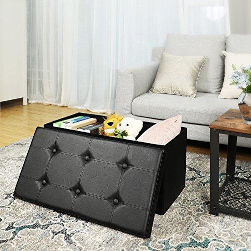 Magnífico Muebles De Almacenamiento W Otomana Componente - Muebles ...