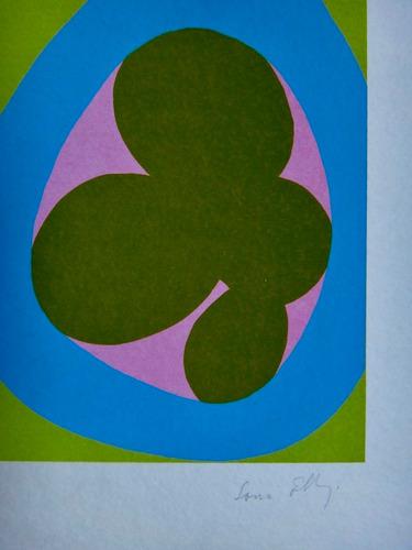 sonia ebling - composição - serigrafia linda e perfeita
