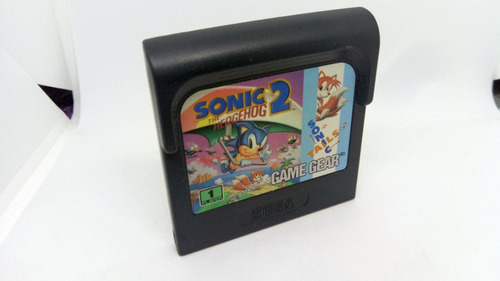 sonic 2 com manual para game gear