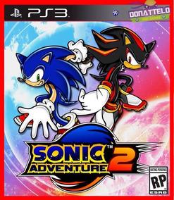 Sonic Adventure 2 Jogos Ps3 Original Codigo Psn