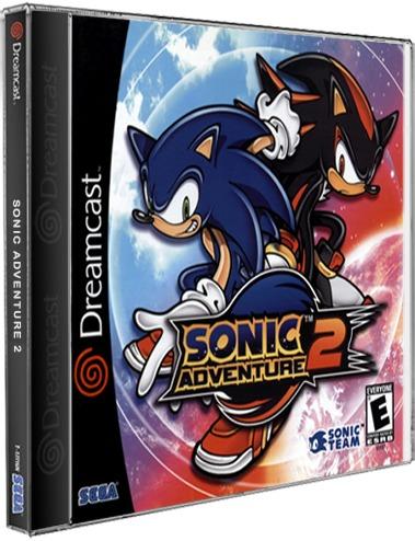 Sonic Adventure 2 Sega Dreamcast Cd Rom