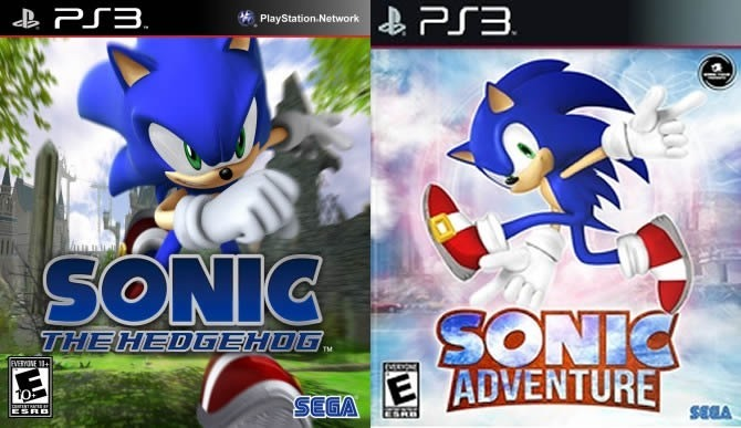 Sonic Adventure Sonic The Hedgehog 2 En 1 Ps3 | Digital