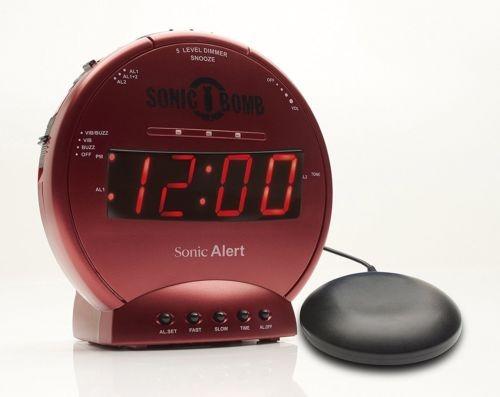 65f46a499dd7 Sonic Alerta Sonic Bomba Ruidoso Reloj Despertador... (red ...
