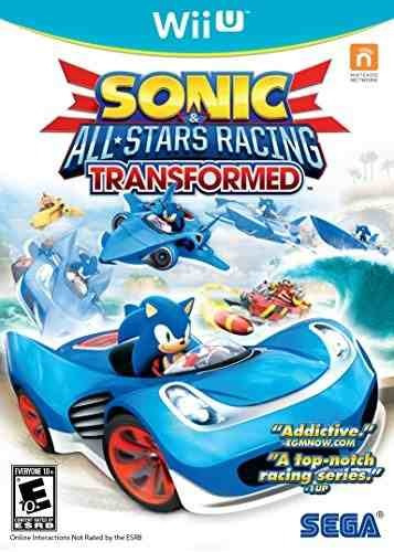 sonic & all-stars racing transformado nintendo wii u