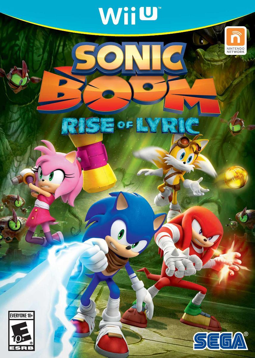 Sonic Boom Rise Of Lyric Nuevo Nintendo Wii U Dakmor Can Ven 999