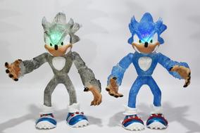 Con Luz Juguete Led Sonic Shadow Boom Figuras 28cm2pz Lobo R4jq3L5cA