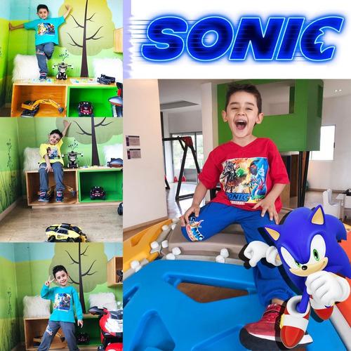 sonic camiseta sudadera conjunto pijama multiusos juguetes
