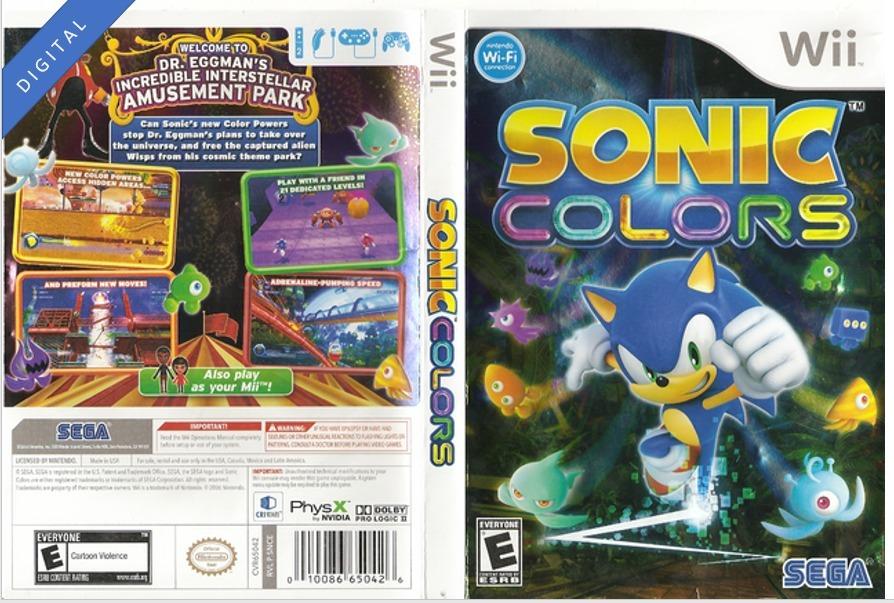 Sonic Colors Para Wii Original Consulte Otros Juegos 495 00 En