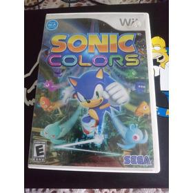 Sonic Colors Wii Y Wiiu