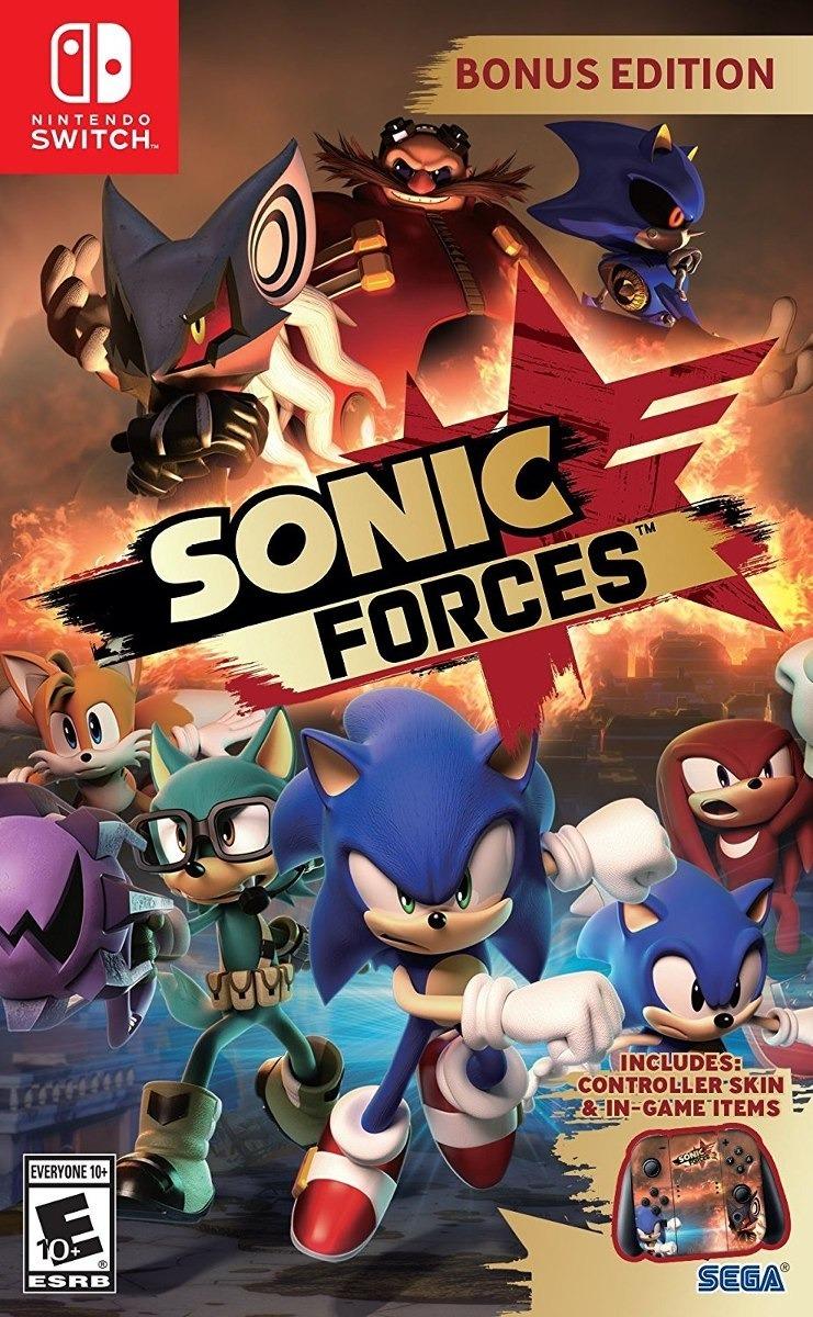 Sonic Forces Juego Para Nintendo Switch Nuevo Bs 499 90 En