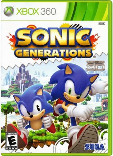 sonic generations xbox 360 xbox one disco fisico