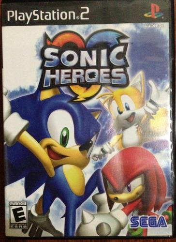 sonic heroes - sega / playstation 2 ps2