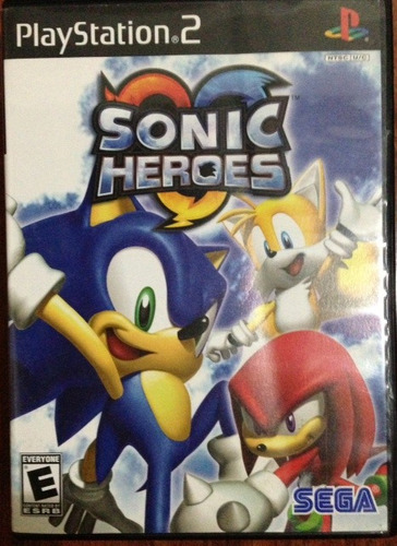 sonic heroes - sega / sony play station 2 ps2