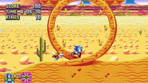 sonic mania - jogo nintendo switch digital