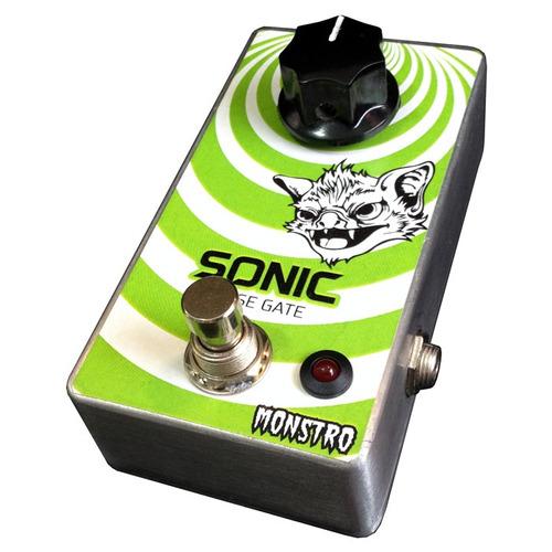sonic noise gate pedal anti-ruído para guitarra contrabaixo