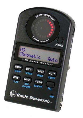 sonic research st-122 turbo tuner