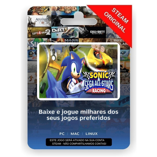 sonic & sega all-stars racing steam cd key