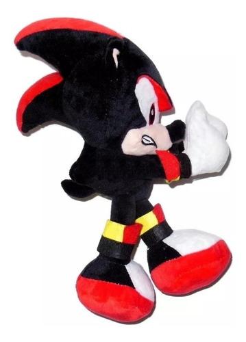 sonic shadow muñeco de peluche 25cm