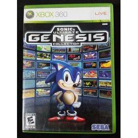 sonic ultímate génesis collection xbox 360