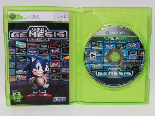 sonic´s ultimate genesis collection - xbox 360 completo