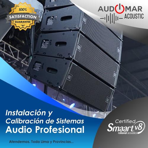 sonidista presta sus servicios en audio profesional