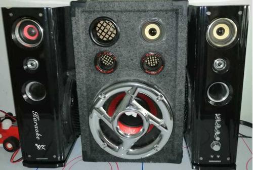 sonido , amplificador y sirve para karaoke