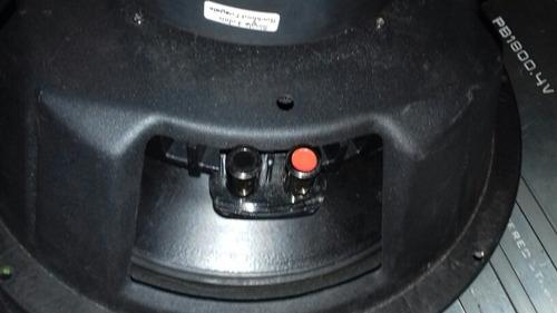 sonido auto bajos 12 doble bobina kicker; 2 plantas. 22ov