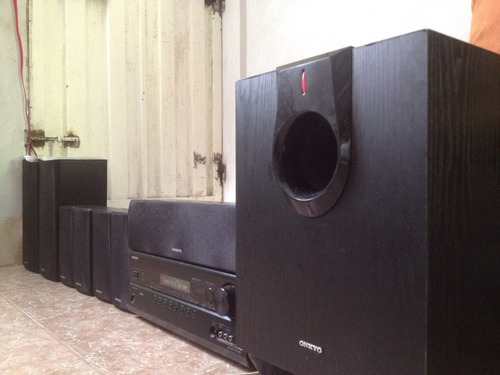 sonido de cine  onkyo home theater cambios negociable