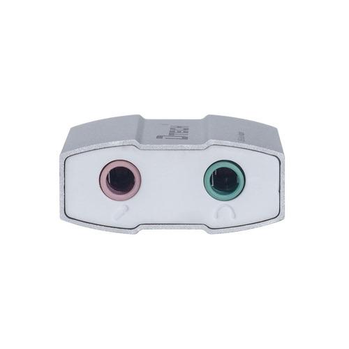 sonido de externo usb dtech tarjeta adaptador de audio 3.5mm