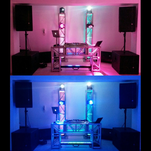 sonido discplay miniteca dj iluminación musica fiesta evento