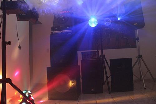 sonido dj´s fiesta iluminación