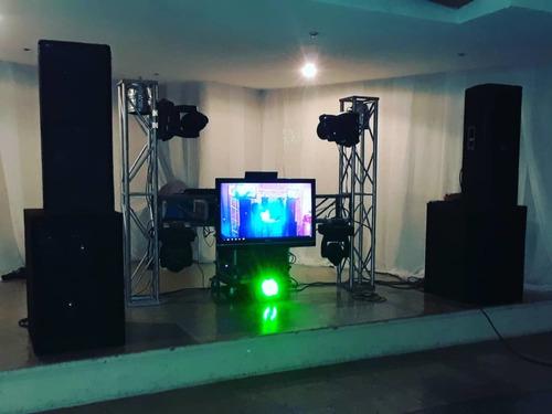 sonido e iluminación para tu evento con el mejor precio.