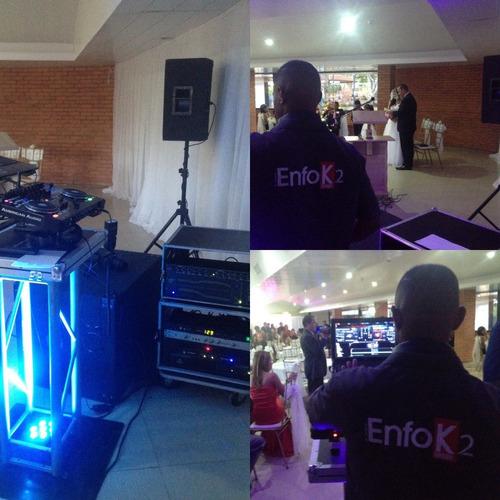 sonido e iluminacion profesional para eventos y celebracions