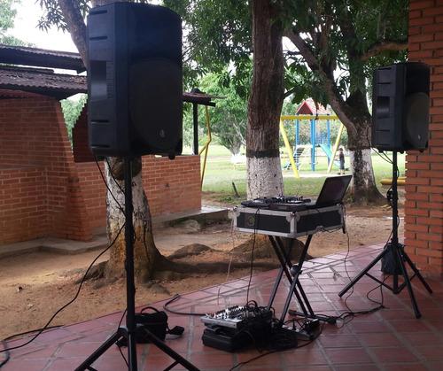 sonido estructuras eventos coorporativos conferencias microf
